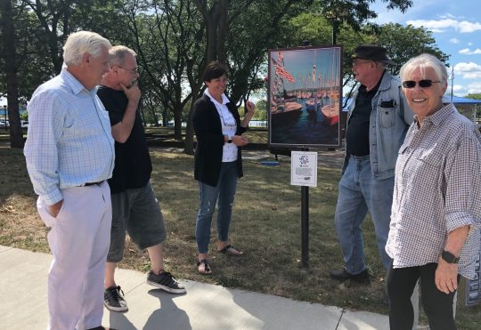 Walking tour of Art Around the City on September 28, 2019, 1:00pm