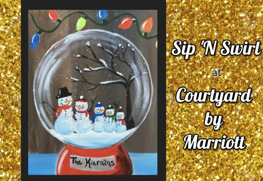 Holiday Sip 'N Swirl at Courtyard by Marriott