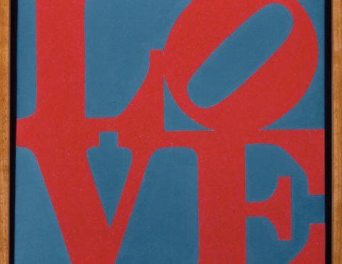 "Robert Indiana's ""Love"" Featured Sip 'N Swirl"