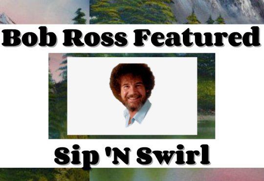 "Joyful Painting"" Featured Sip 'N Swirl"