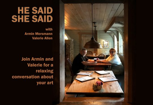 He Said, She Said with Armin Mersmann and Valerie Allen