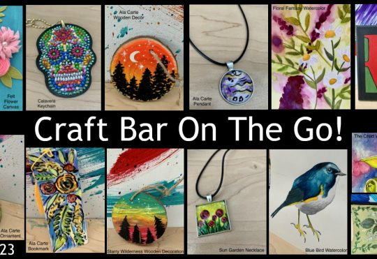 Craft Bar On The Go!