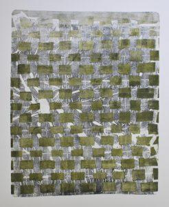 geometric mono print