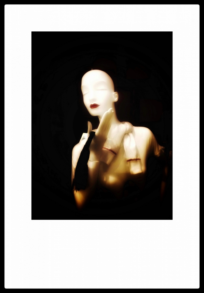 Photograph of mannequin