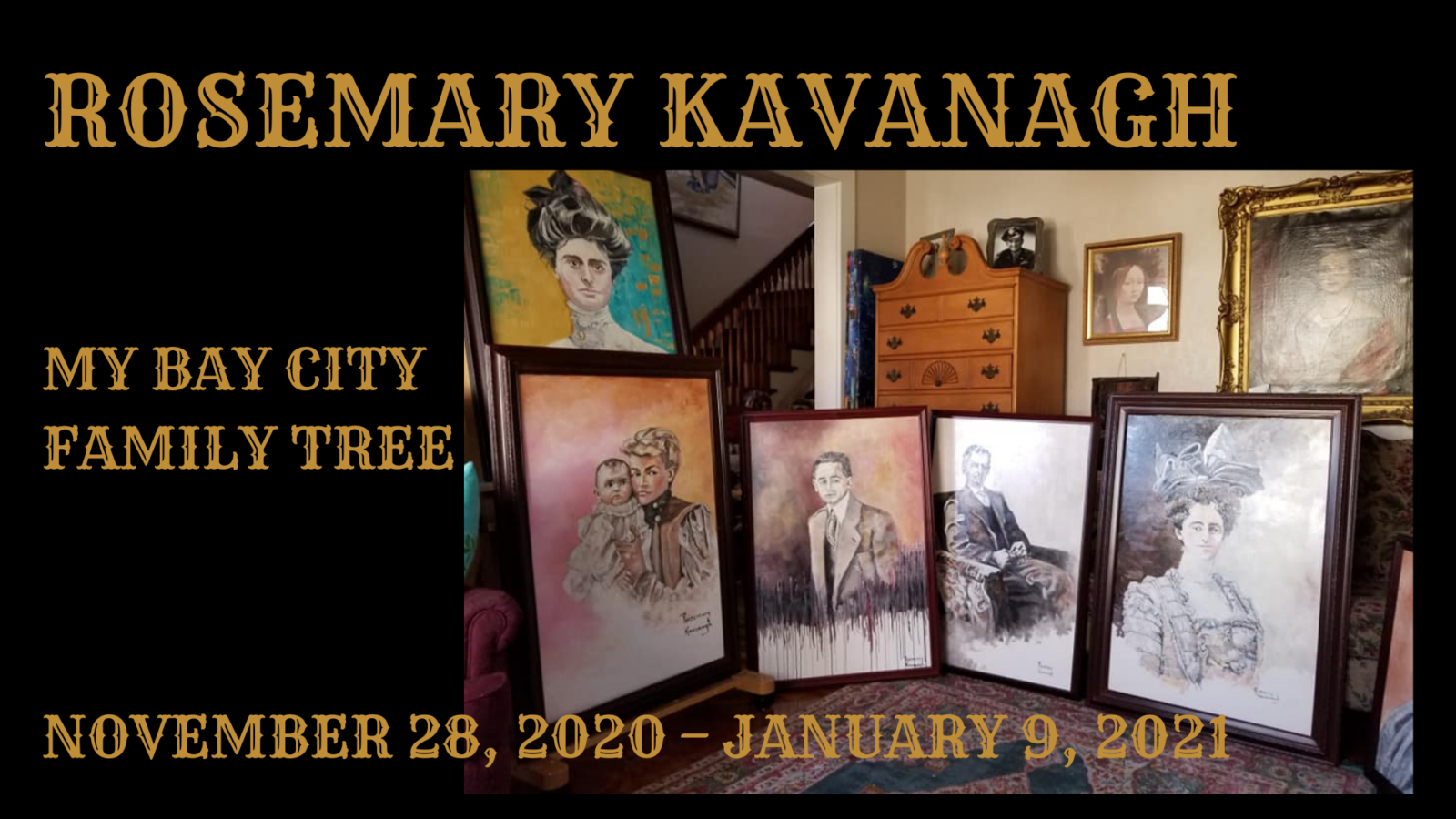 My Bay City Family Tree: Artist Rosemary Kavanagh