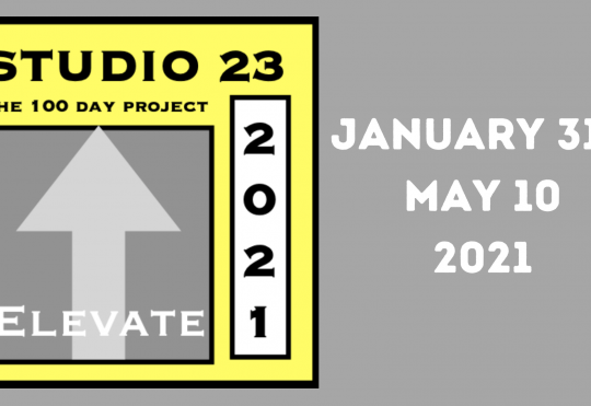 Studio 23 The 100 Day Project Virtual Information Session