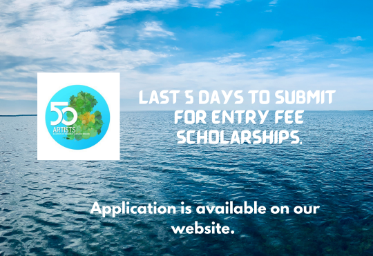 Last 5 days to submit for entry fee scholarships.