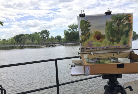 En Plein Air Workshop with Ruth Howell