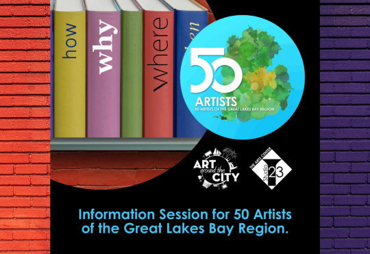 Facebook Live Information Session for 50 Artists of the Great Lake Bay Region